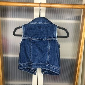 GAP Jackets & Coats - Baby Gap Toddler Girl Denim Vest